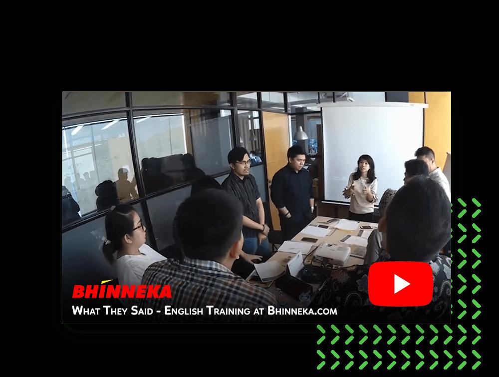 What They Said - Company Training at Bhinneka.com
