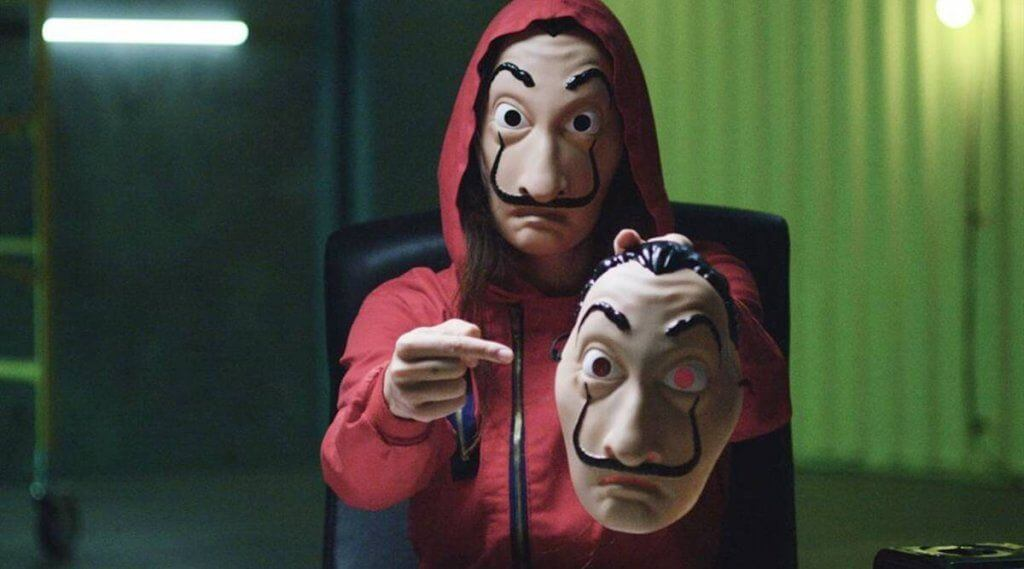 Learn English from TV series, including Money Heist.